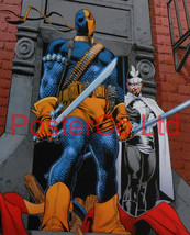"Deathstroke (Green Arrow / Teen Titans Villain) - Framed Print - 16""H x ... - $51.00"
