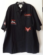 Vtg Big Dogs Men's Motorcycle Work Shirt XL Embroidered NWT - $70.10