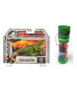 Jurassic World Velociraptor Green and Set of 12 Mini Dinosaurs Figures. - $21.99