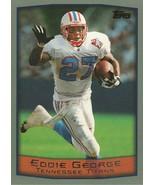 1999 Topps #175 Eddie George  - $0.50