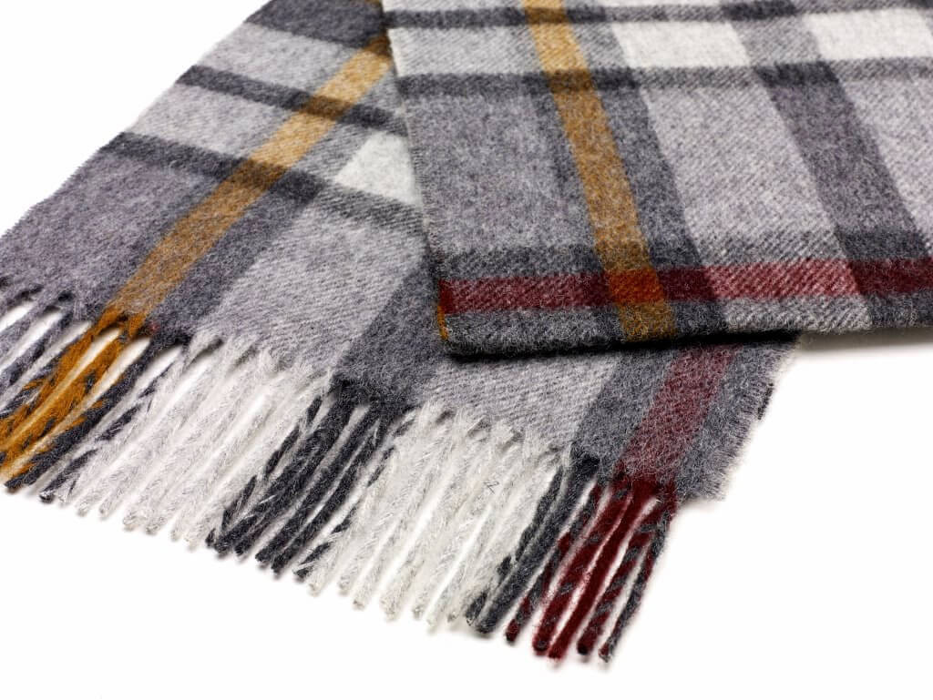 Buttertubs Grey Scarf