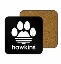 Hawkins Middle School Coaster Bar Kitchen Nerdy Geeky Coffee Table Pop C... - $7.61+