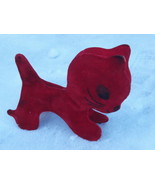RARE VINTAGE SOVIET RUSSIAN USSR 1970's INFLATABLE RUBBER TOY CAT - $62.36