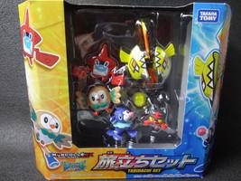 Pokemon Moncolle EX Departure Set TAKARA TOMY Tabidachi Set  - $55.74