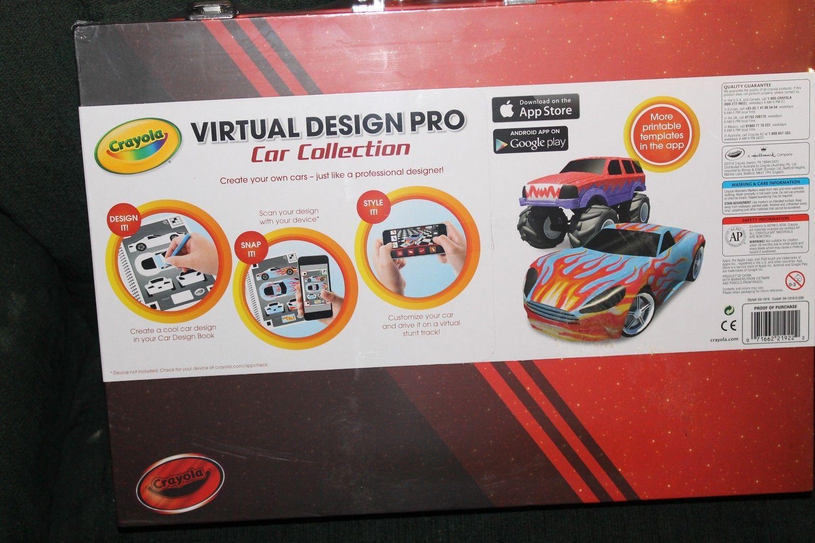 crayola virtual design pro car collection new and 20 similar items