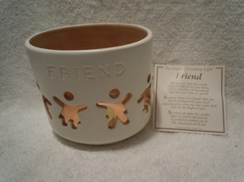 Friendship Light Ceramic Candle Holder New - €8,24 EUR