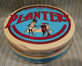 PLANTERS PEANUTS Tin Can Collectible MR. PEANUTS Mixed Nuts COLLECTORS S... - $6.95
