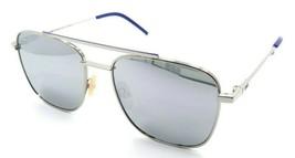 Fendi Sunglasses FF M0008/S 010T4 55-18-145 Palladium / Silver Mirrored Italy - $196.00