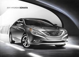 2011 Hyundai SONATA brochure catalog 2nd Edition US 11 GLS SE Limited - $6.00
