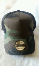 New Era 9FORTY Snapback Trucker Cap Blank Camouflage Army Camo Military ... - $14.99
