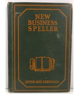 New Business Speller 1924 Lyons and Carnahan Chas. M. Miller - $3.99