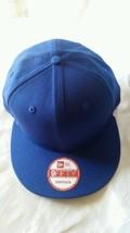 New Era 9Fifty Flat Snapback Hat Cap Blank { Royal Blue } Ne 9FIFTY { 1X } - $14.99