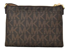 Fashion Michael Kors Fulton Crossbody Bag Brown 35T6GFTC7B womens - $163.60