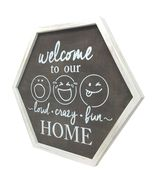 TX USA Corporation Wooden Welcome To Our Home Decorative Wall Art - Multicolor  - $28.84