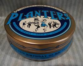 PLANTERS PEANUTS Tin Can Collectible MR. PEANUTS 75 Birthday COLLECTORS ... - $9.95