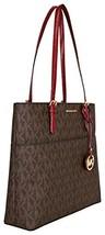 Fashion Michael Kors Bedford Tote BrownRed w150... - $0.00