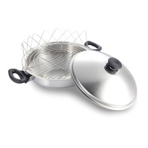 iCook 7-ply Stainless Steel Wok with Lid and accessories - $561.00