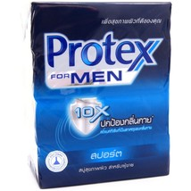 Protex for Men Antibacterial Bar Soap SPORT 70g Pack of 4 - $12.50