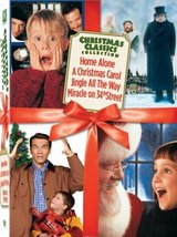 Miracle on 34th Street/Jingle All the Way/Home Alone/A Christmas Carol 4 DVD Set