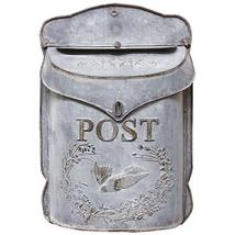 Metal Wall Mounted Post Mailbox, Wedding Gift C... - $56.99