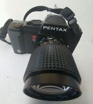 Pentax A3000 35mm SLR Film Camera + lenses 1:3.5 f=36-100mm 1:3.5-4.5 f=... - $42.56