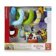 Infantino Topsy Turvy Spiral Activity Toy Batti... - $17.75