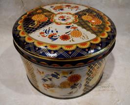 Vintage GRAY DUNN Biscuits Cookie Tin Collectible Souvenir Collector Flo... - $14.95