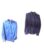 Levi's Snap Front Denim Tailored Western Shirts - Youth  XL - $19.00