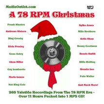A 78 RPM Christmas MP3 CD - $18.95