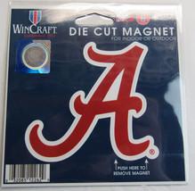 Ncaa Nib 4 Inch Auto Magnet - Alabama Crimson Tide - $9.95