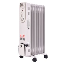 Radiator Space Heater 1500W Electric Oil Filled... - $56.95
