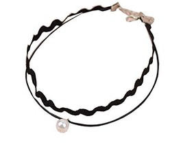 The Wavy Lace Neck Strap The Fashion Beads Necklace