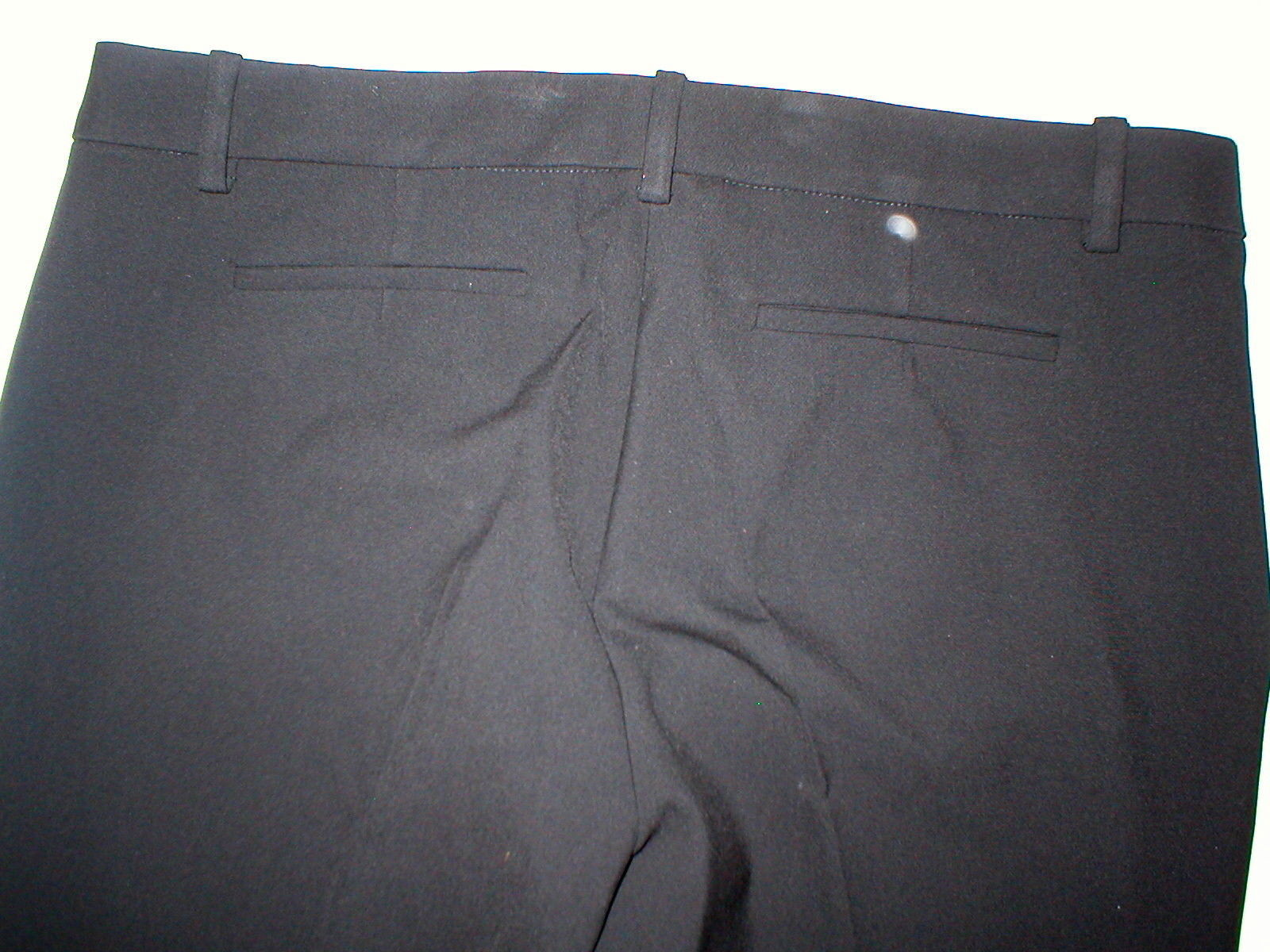 New NWT Womens Designer Trina Turk Black Pants Slacks 12 Aubree Office USA Work