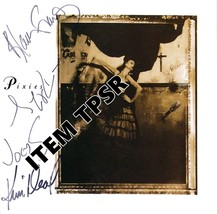THE PIXIES - SURFER ROSA - FULL BAND PHOTO SIGN... - $36.11