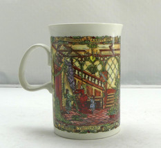 """Christmas Party"" a Christmas Cheer Mug by Dunoon Stoneware Scotland Cof... - $9.45"
