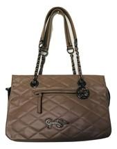 Jessica Simpson Handbag Medium Mocha Purse New Without Tags Tiny Scuff on Handle - $29.02
