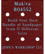 Build Your Own Bundle of Makita BO4552 1/4 Sheet No-Slip Sandpaper - 17 ... - $0.99