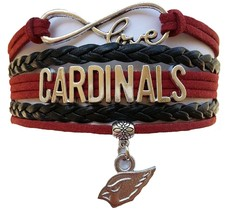 Arizona Cardinals Football Fan Shop Infinity Bracelet Jewelry - $9.99
