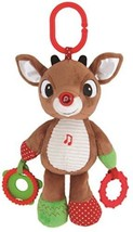 Rudolph The Red Nosed Reindeer Plush Musical Light Up Activity Toy - $37.81