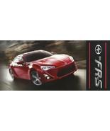 2013 Scion FR-S sales brochure folder US 2nd Edition Toyota FT 86 FRS - $10.00