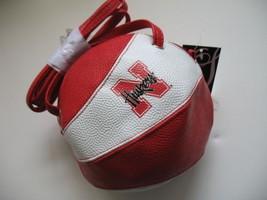 Nebraska Cornhuskers New Crossbody Basketball Bag Purse Handbag NCAA Licensed - $17.63