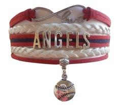 Los Angeles Angels Baseball Fan Shop Infinity Bracelet Jewelry - $11.99