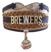 Milwaukee Brewers Baseball Fan Shop Infinity Bracelet Jewelry - $11.99