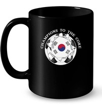 South Korea Soccer Ceramic Mug Champions To The Core Football - $13.99+