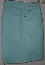 Liz Claiborne Shorts Mint Green Denim 100% Cotton Classic Fit Womens Siz... - $7.69