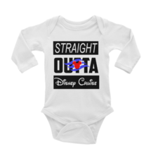Straight Outta Disney Cruise Onesie Long or Short Sleeves - $13.99