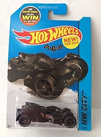 Primary image for Hot Wheels Batman Arkham Knight Batmobile by Mattel