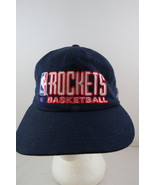 Houston Rockets Hat (VTG) - Wool Script Front By Champion- 90s Colouway-... - $49.00