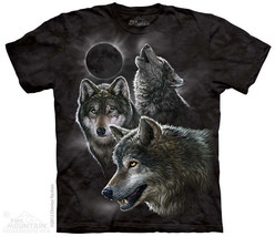 Eclipse Moon Wolves The Mountain Adult & Youth ... - $17.57 - $21.73