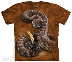 Rattlesnake The Mountain Adult Size T-Shirt - $18.51+